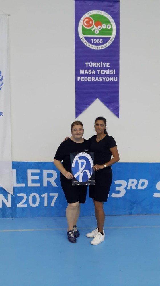 PAÜ çalışanları turnuvadan başarı ile döndü