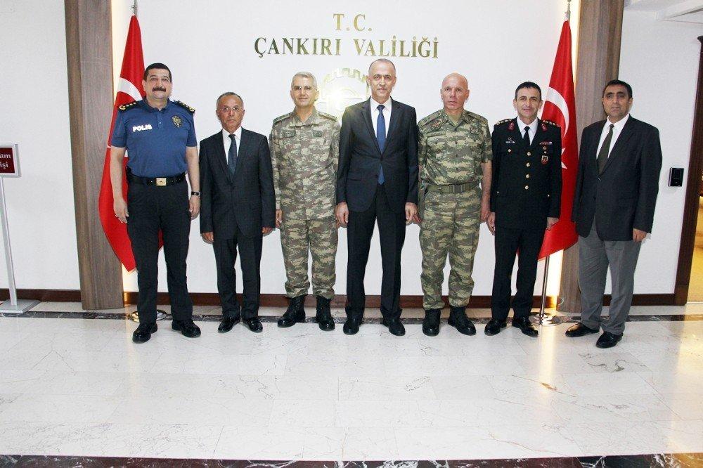 4. Kolordu Komutanı Sivri'den Vali Aktaş'a ziyaret