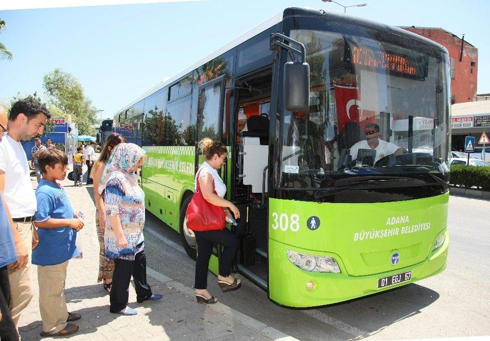 Kızıldağ'a klimalı belediye otobüsleri seferde