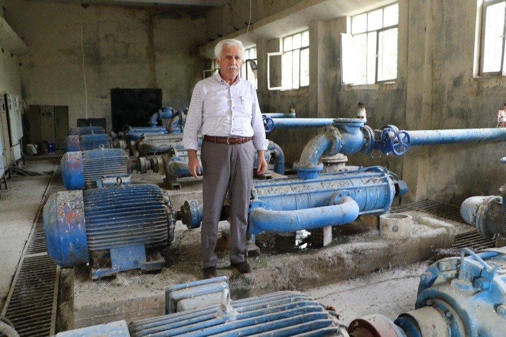 Başkan Toprak suyla ilgili gazetecileri bilgilendirdi