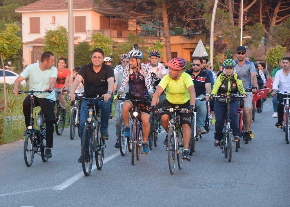 Aliağa'da Bisiklet Yolu açıldı