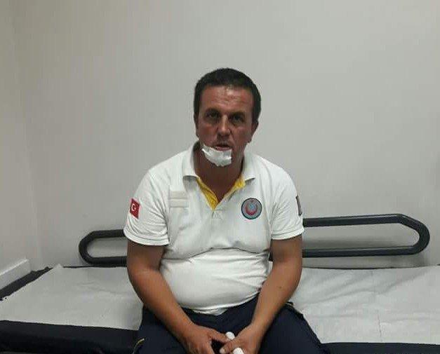 Ankara'da 112 Acil Servis ekibine saldırı