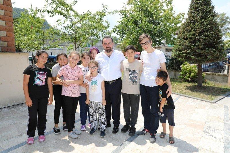 Başkan Aktepe, Büyük Sanayi Sitesinde incelemelerde bulundu