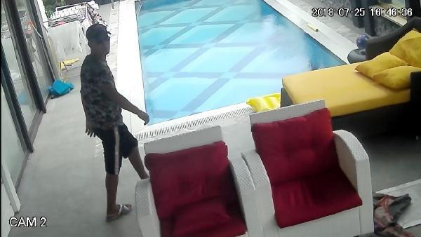 Hırsızlık şüphelisi, tatil çadırında yakalandı