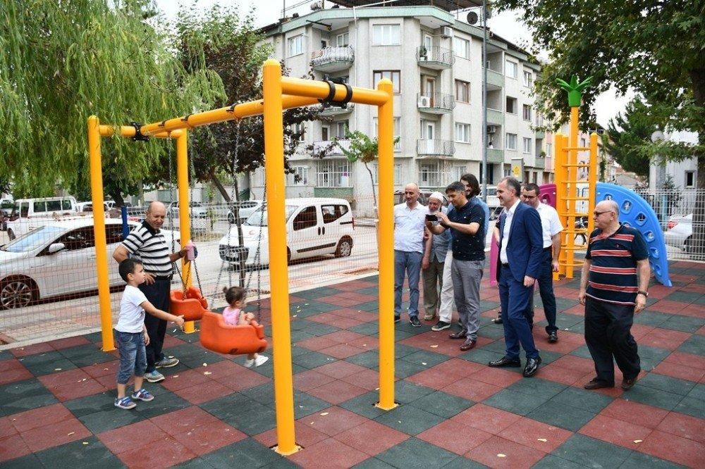 Sinanbey Parkı yenilendi