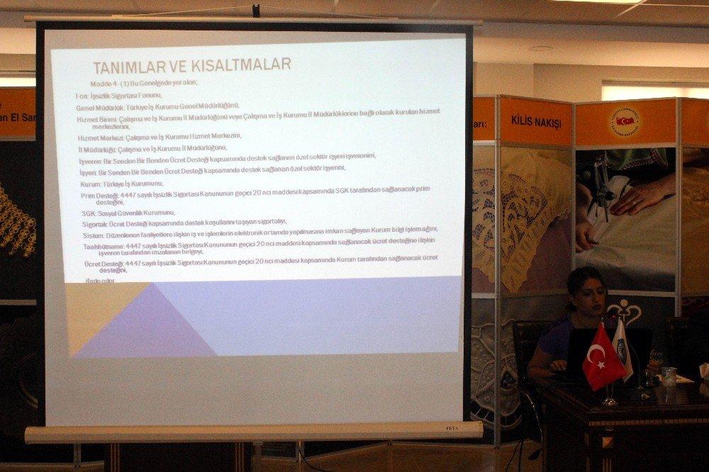 Hükumetin teşvik projesi ile borçları yapılandırması anlatıldı