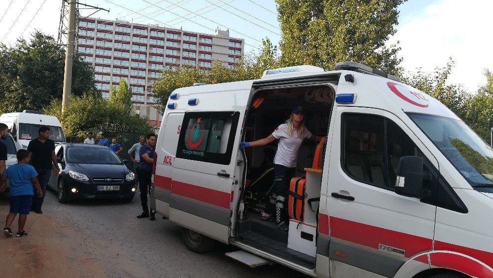 Kaza sonrası silahlar konuştu: 1 yaralı