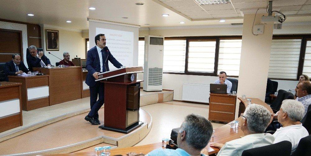 KTO Başkanı Öztürk, meclis toplantısında gündemi değerlendirdi