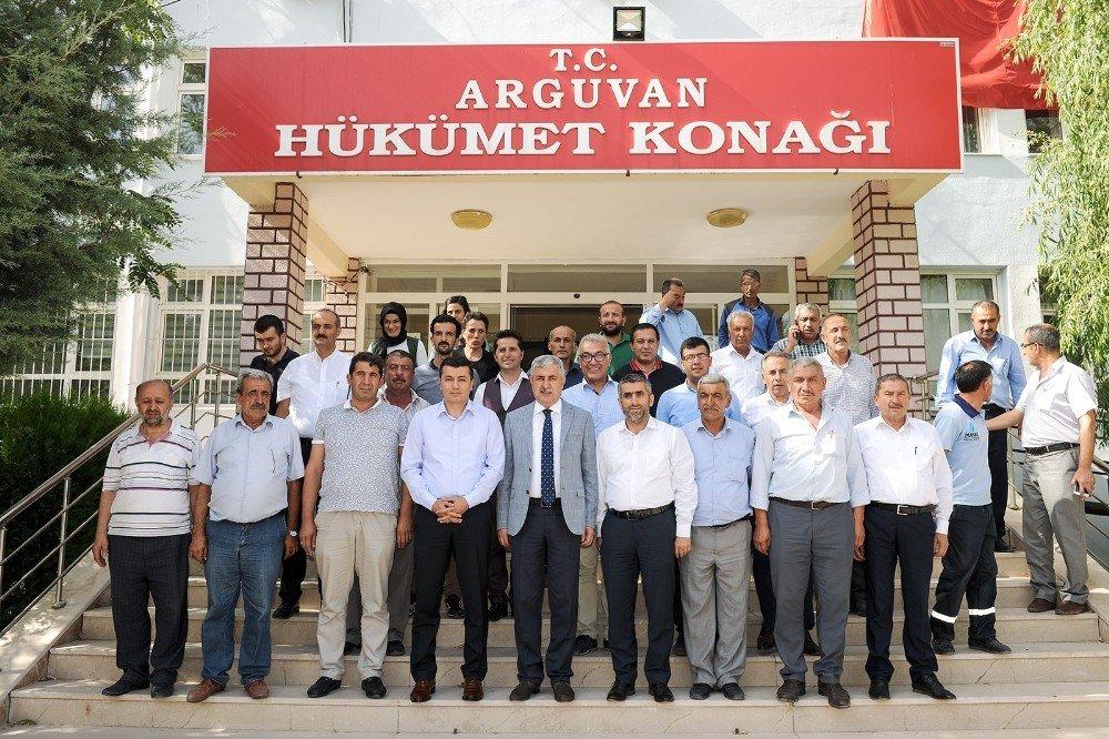 Polat'tan Arapgir ve Arguvan'a ziyaret
