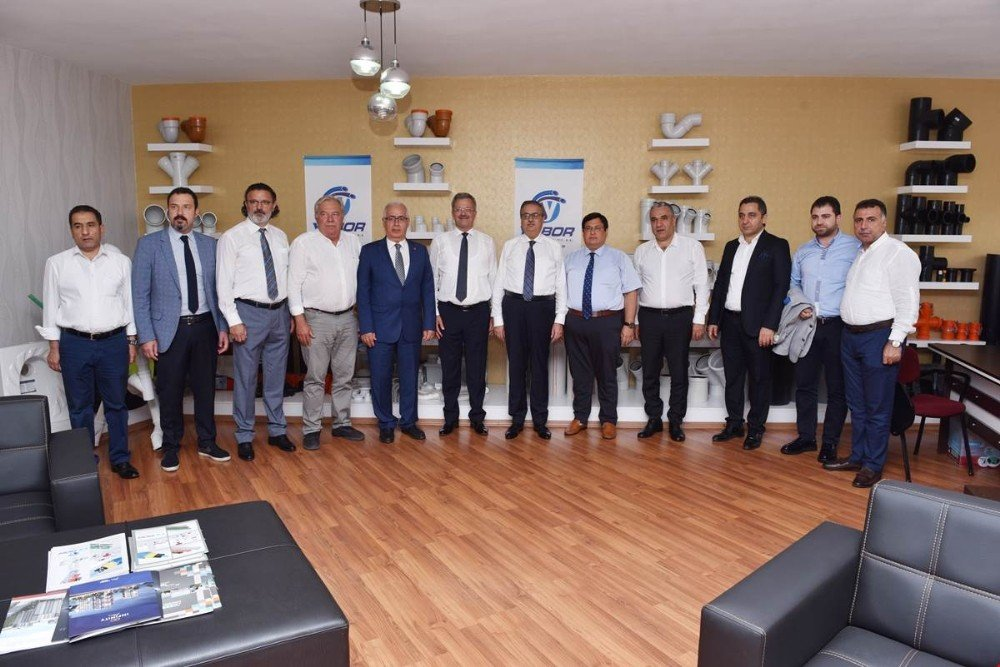 Mersin-Tarsus OSB Müteşebbis Heyeti toplandı