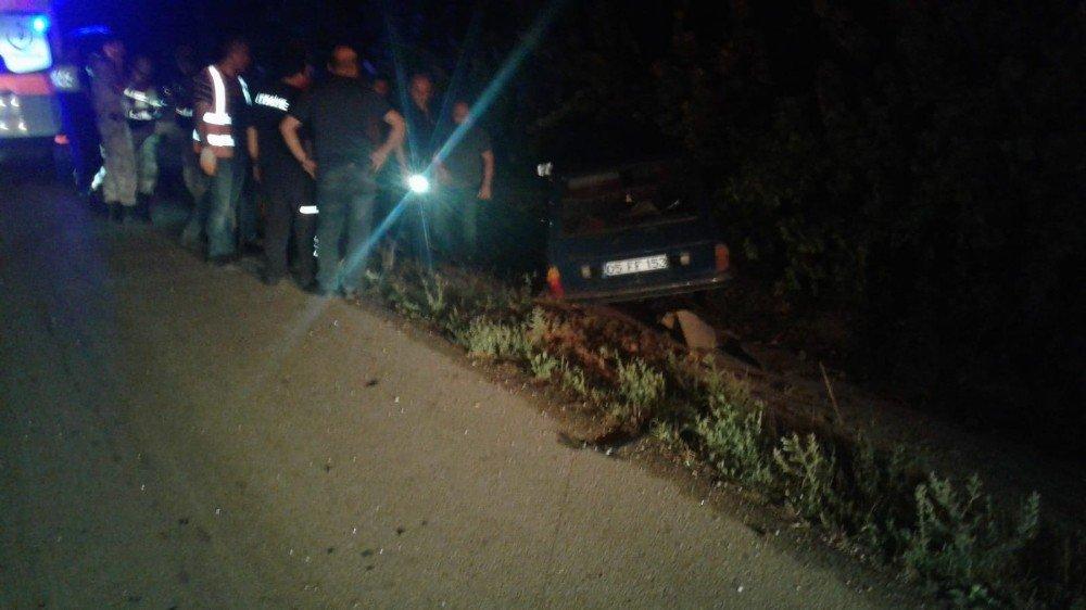 Amasya'da trafik kazası: 1 ölü