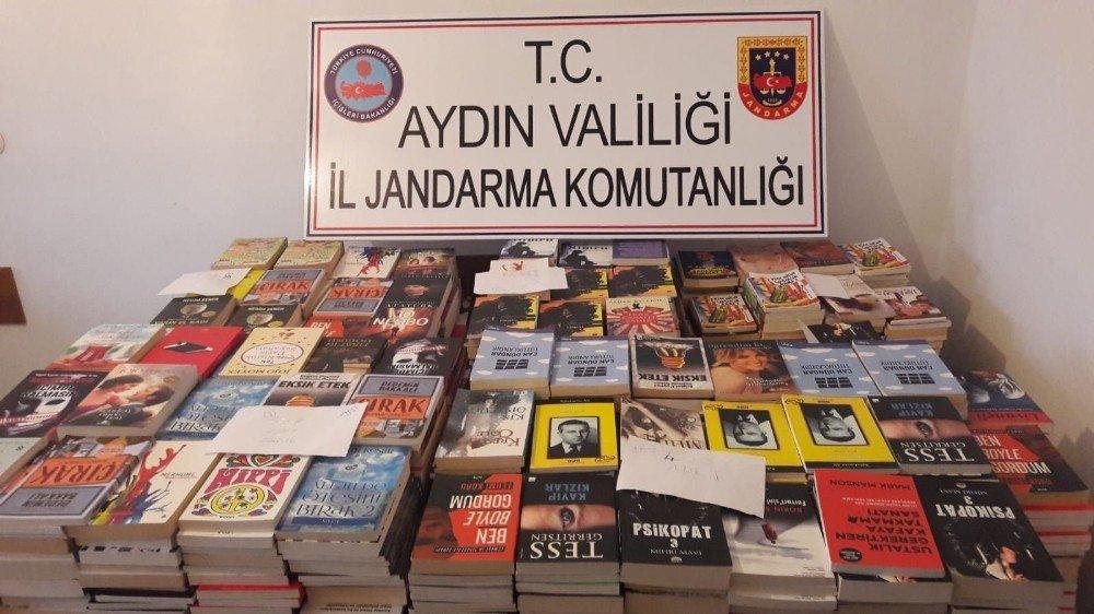 Aydın'da 1469 adet korsan kitap ele geçirildi
