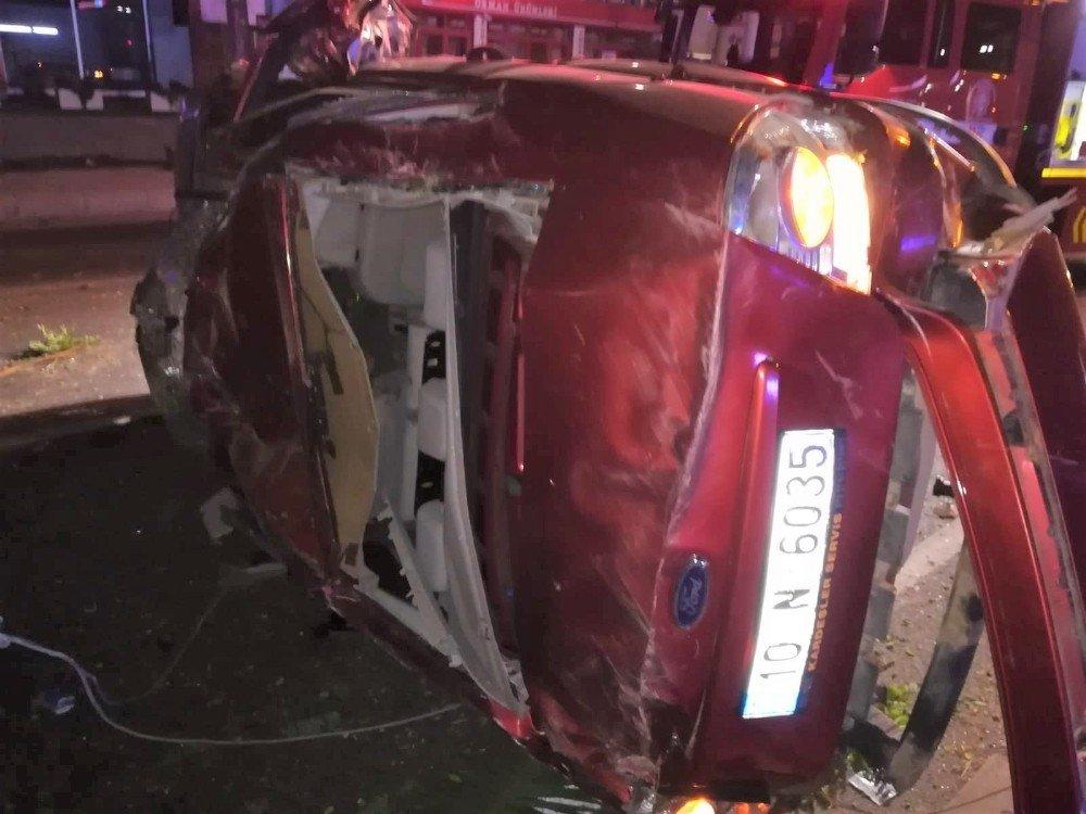 Edremit'te trafik kazası: 1 ölü