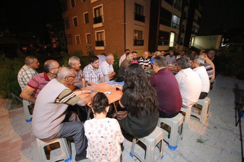 Beyşehir'de akşam sohbetleri