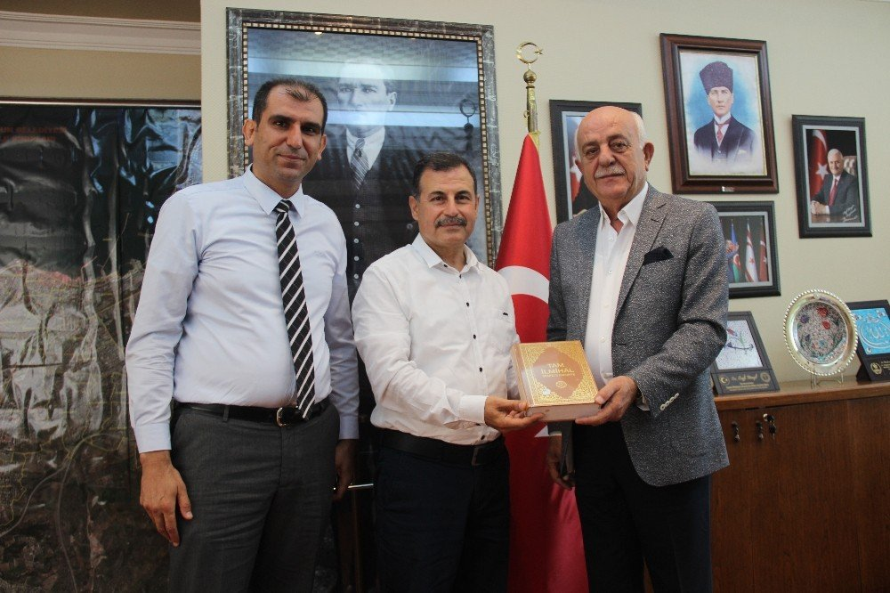 Türkiye gazetesinden Başkan Seyfi Dingil'e ziyaret