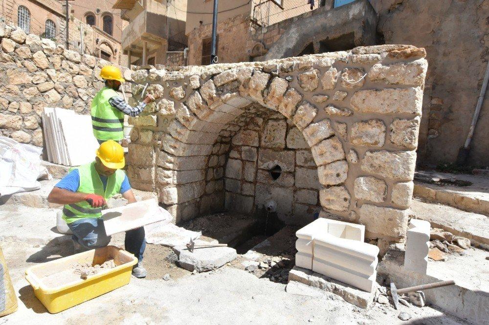 Mardin sokakları sabunlu suyla yıkandı