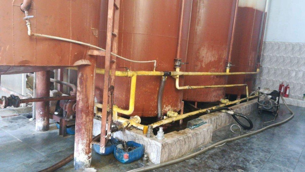 Mersin'de 32 bin litre kaçak akaryakıt ele geçirildi