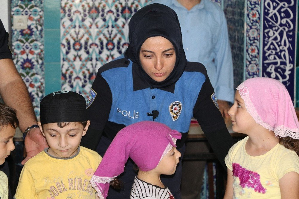 Polisten ailelere çağrı: 'Çocuklarınızı polis ile korkutmayın'