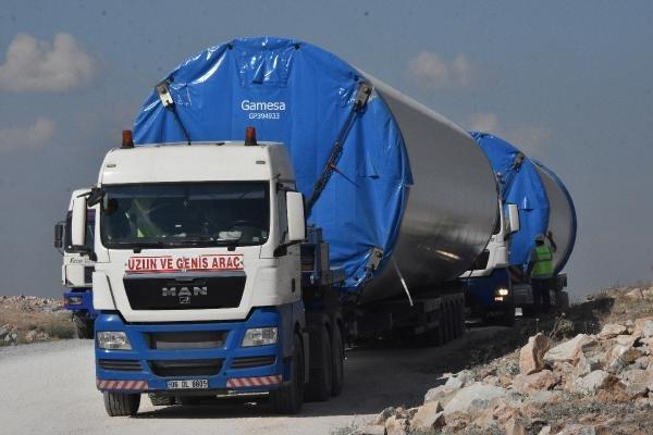 Konya'da rüzgar enerjisiyle, On binlerce konutun elektrik ihtiyacı karşılanacak
