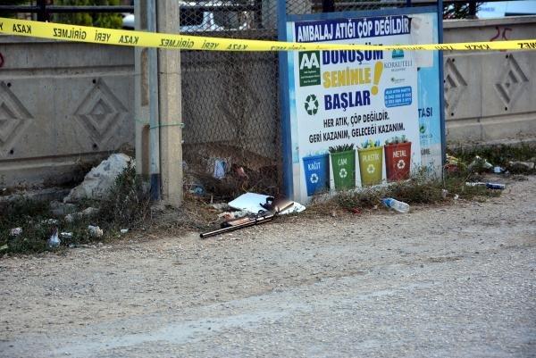 Tartıştığı kişiyi av tüfeğiyle öldürüp, intihara kalkıştı