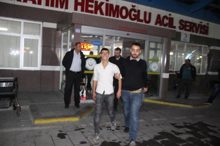 Emekli polisin aracından 6 bin 500 lira çalan şüpheliler yakalandı