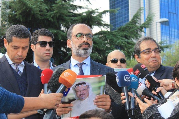 Kayıp Suudi gazeteci için meslektaşlarından konsolosluk önünde açıklama