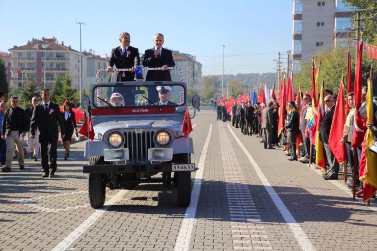 Cumhuriyetin 95'inci yılı Bartın'da törenle kutlandı