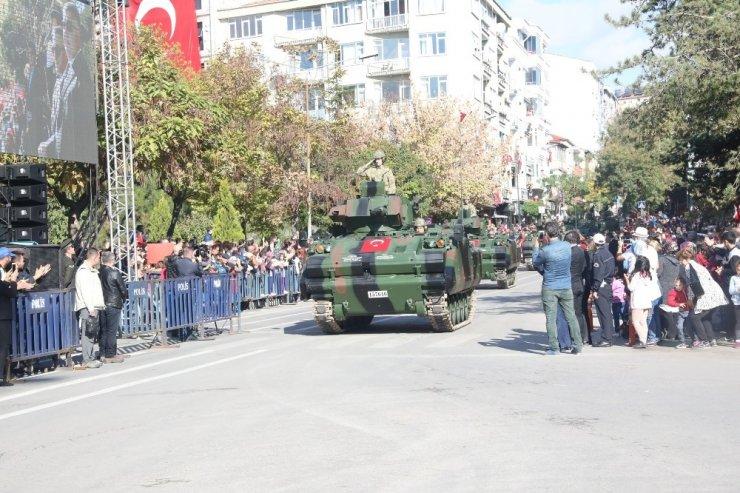 Cumhuriyet'in 95. yılı Kırklareli'de coşkuyla kutlandı