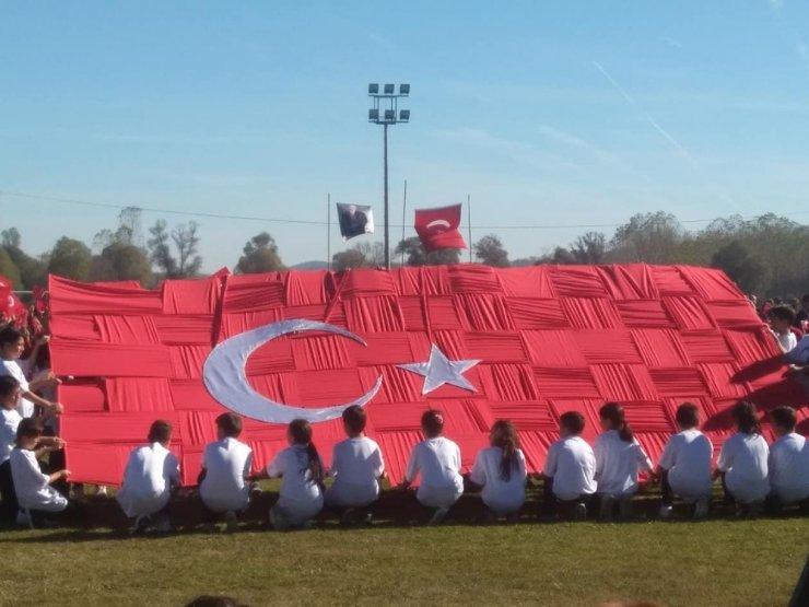 Daday'da 29 Ekim Cumhuriyetin Kuruluşu kutlandı