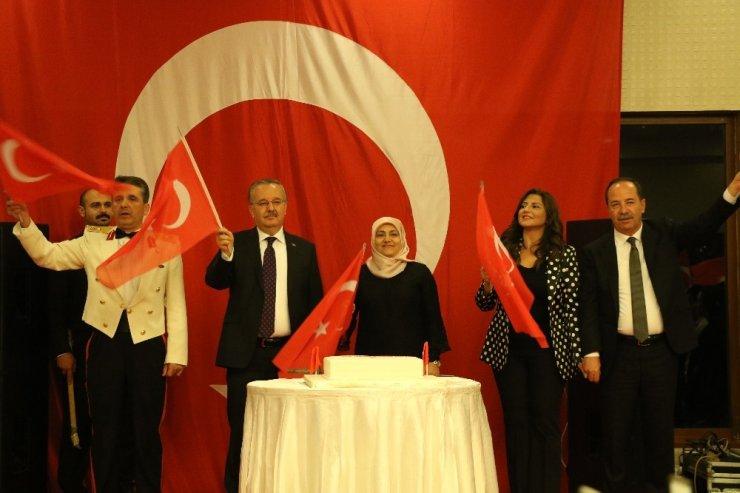 Edirne Valisi Özdemir'den Cumhuriyet Bayramı'nda 'veda' resepsiyonu