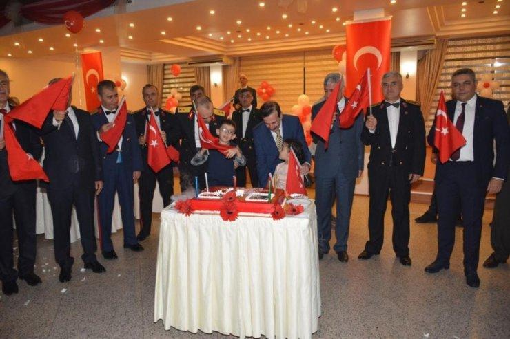 Malatya'da Cumhuriyet Bayramı resepsiyonu