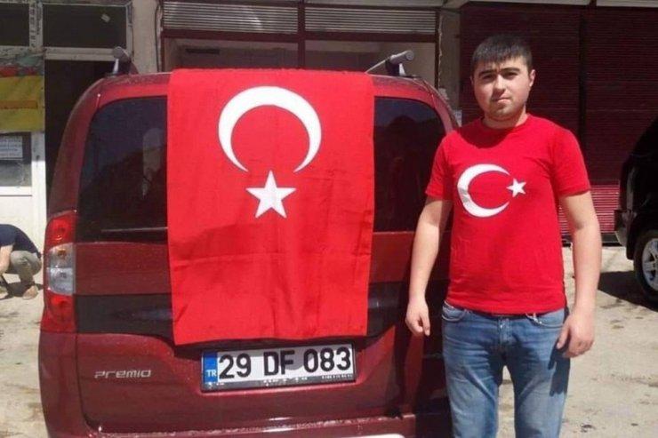 Kürtün'de trafik kazası: 1 ölü, 2 yaralı