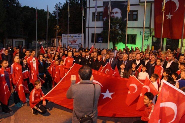 Osmaneli 'de 29 Ekim Cumhuriyet Bayramı Fener Alayı düzenlendi