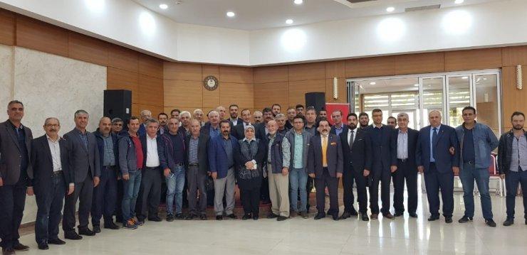 AK Parti basın mensuplarıyla değerlendirme toplantısı yaptı