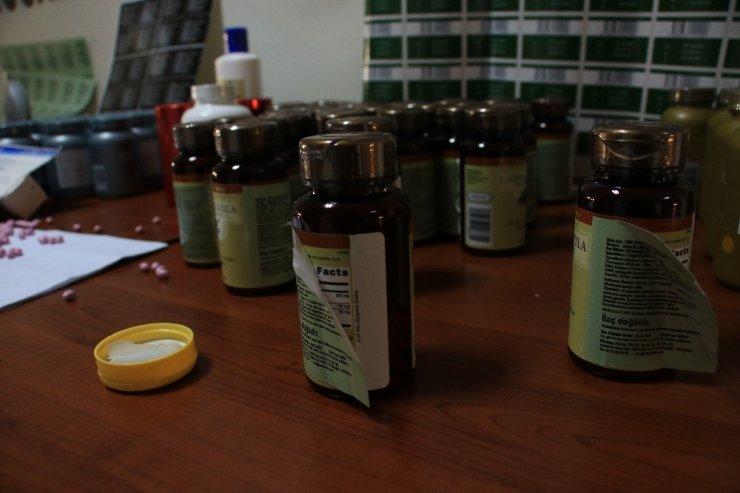 Ankara'da 678 bin adet kaçak vitamin hapı ve kişisel bakım ürünü ele geçirildi