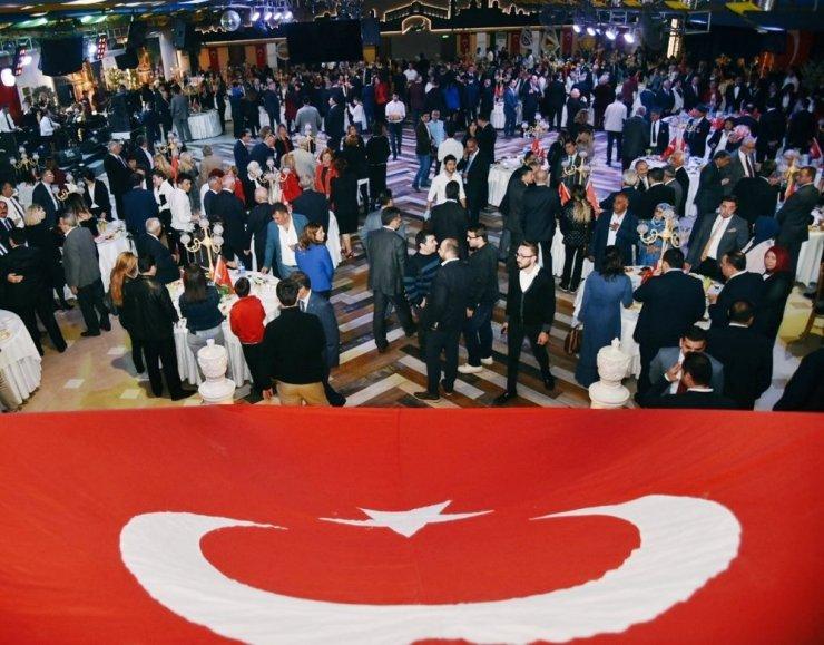 Aydın'da Cumhuriyet resepsiyonu