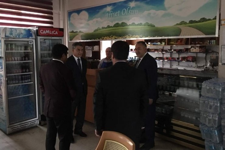 Kaymakam Özkan'dan okul ziyareti