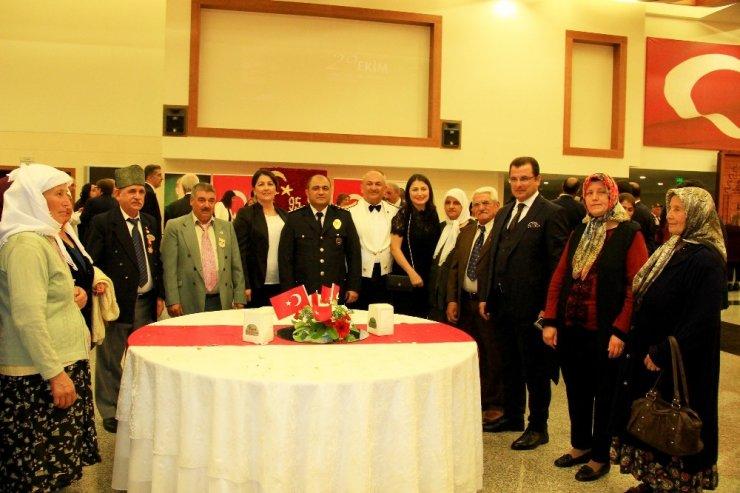 Muğla'da 29 Ekim resepsiyonu