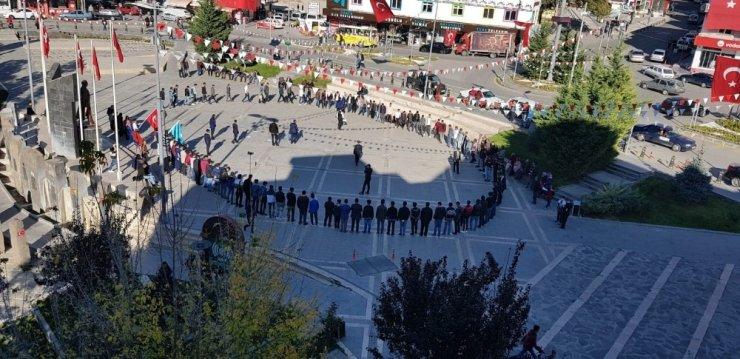 Develi Ülkü Ocakları Cumhuriyet Meydanı'nda Ülkücü Yemini Etti