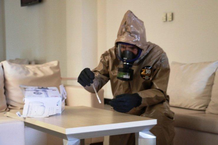 Diyarbakır'da cumhuriyet başsavcısına şüpheli kimyasal paket tatbikatı