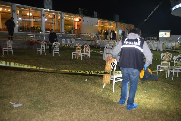 Düğün salonunda silahlı saldırı: 2 yaralı
