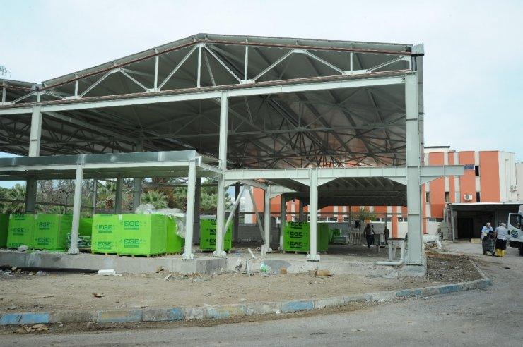Ege Üniversitesi'ndeki yeni yemek üretim tesisi kapasiteyi artıracak