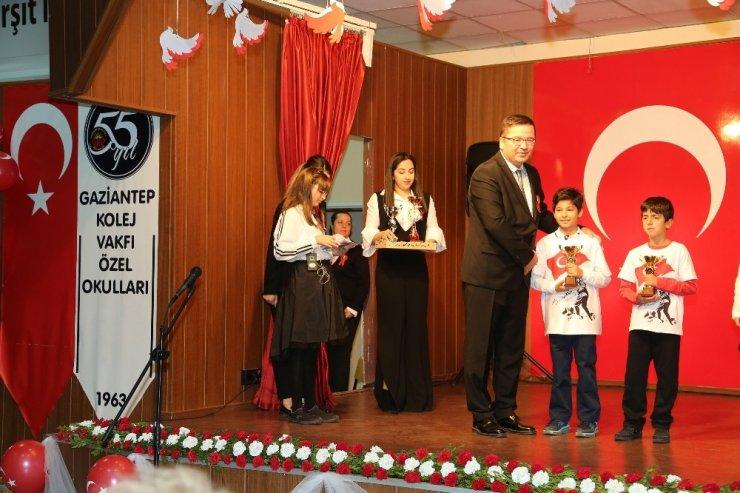 GKV'li Şampiyonlar ödüllendirildi