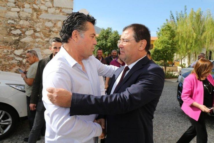 Kocadon, ilk ziyaretini Milas'a yaptı.