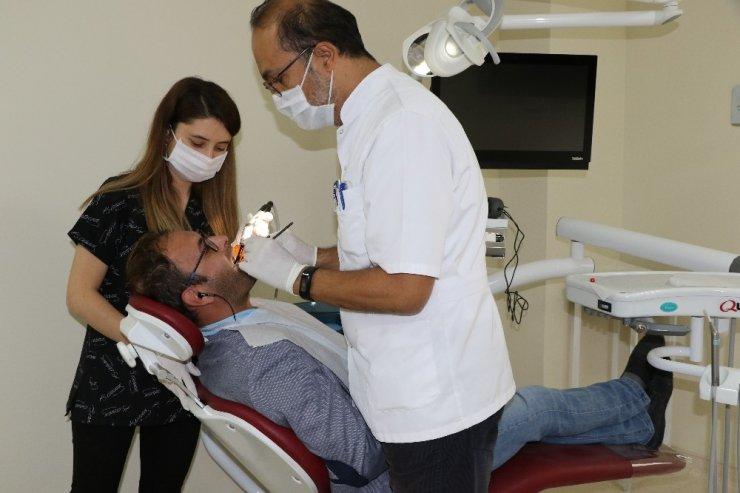 Ağız Diş Sağlığı Hastanesi yeni binasında hizmete başladı