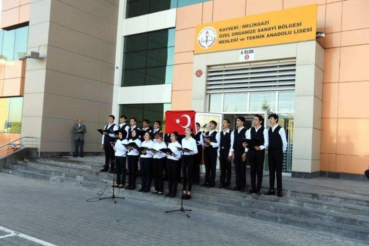 Özel Kayseri OSB Teknik Kolejinde 29 Ekim Cumhuriyet Bayramı Kutlandı
