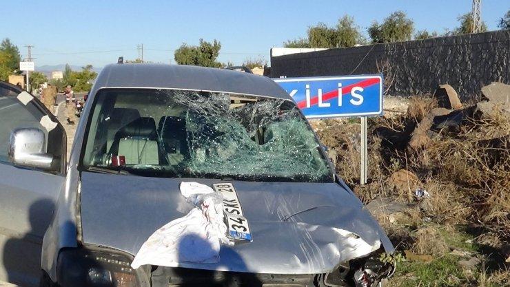 Kilis'te trafik kazası: 3 yaralı