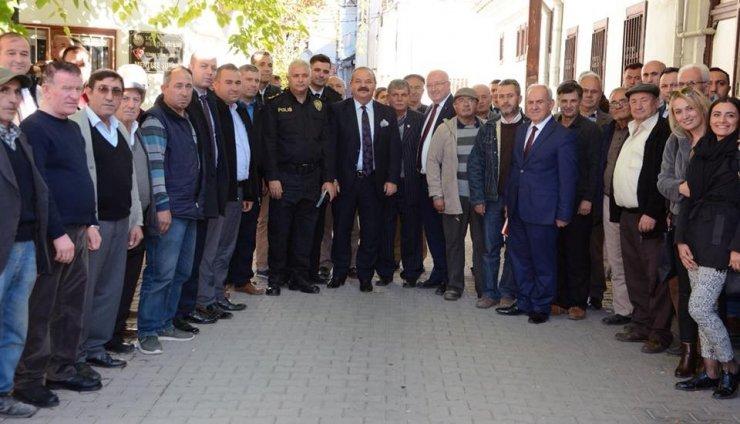 Menteşe'de halkla buluşma ve güvenlik toplantısı