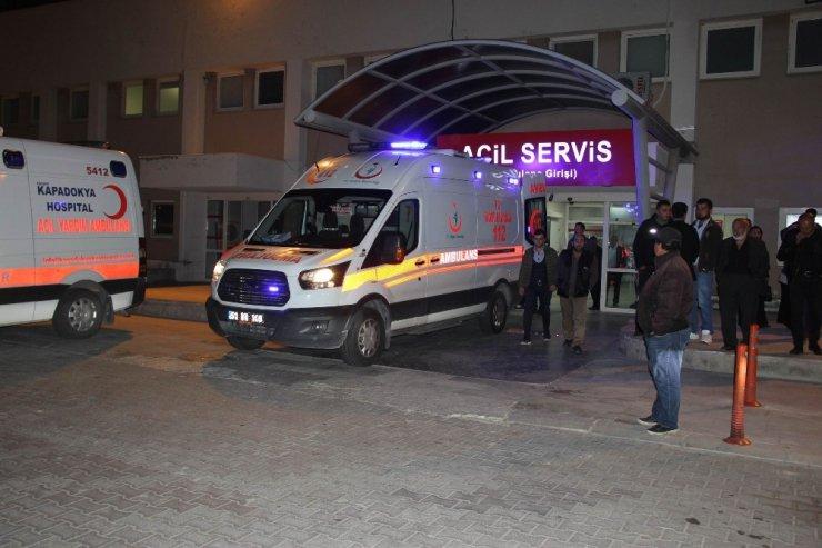 Nevşehir'de trafik kazası: 1 ölü, 4 yaralı