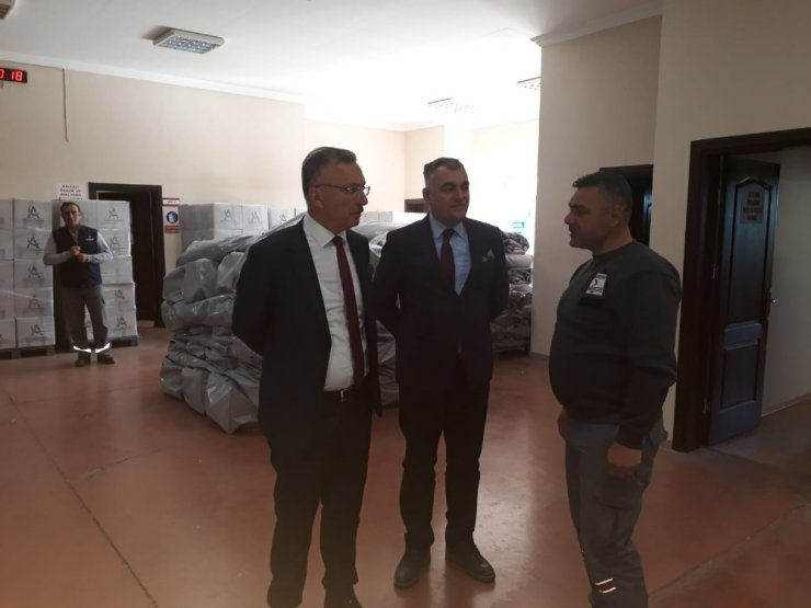 Rektör Akın Levent'ten, Türk Kızılay'ına ziyaret